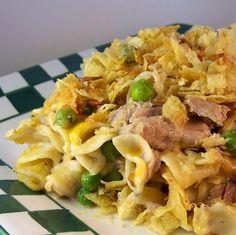 FLASHBACK Tuna-Noodle Casserole Topped with Potato Chips