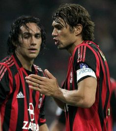 Paolo Maldini & Alessandro Nesta, AC Milan