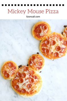 Make lunchtime extra fun and get the kids to help make a Mickey Mouse Pizza. Perfect for the Disney fans in your house.