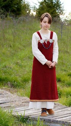 850's Norwegian Woman's Viking Dress by HeddlesandTreadles on Etsy, $185.00