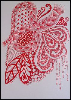 Zentangle+Art+Therapy   Abstract Art Therapy: Zentangle