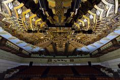 15 Eerily Beautiful Photos of Abandoned Movie Theaters | Mental Floss  [The Warner Theatre in Huntington Park, California opened on November 19, 1930. It was sold to Pacific Theatres in 1968. They twinned the Warner in the 1980s, separating the balcony and orchestra levels, and renamed it Pacific's Warner 2. The Warner closed in the early 1990s after a stint as a Spanish language theater.]