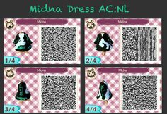 Animal Crossing QR-Codes Zelda | Animal Crossing New Leaf - Midna by GoWaterTribe
