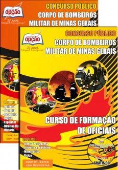 Apostila Concurso Corpo de Bombeiros Militar do Estado de Minas Gerais - CBMMG - 2015: - Cargo: ascensão ao Curso de Formação de Oficiais