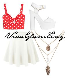 """""""Untitled #140"""" by tinyybeautylicious on Polyvore featuring Forever 21 and Nly Shoes"""