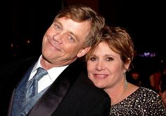 Aww - the twins :) 'Star Wars: Episode VII': Mark Hamill, Carrie Fisher send first tweets | EW.com