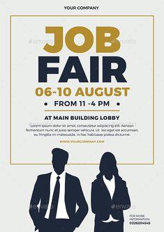 Job Fair Flyer #Ad #Job, #AFFILIATE, #Fair, #Flyer Company Job, Hr Management, Job Fair, Business Card Design, Lorem Ipsum, Cards, Taj Mahal, Strong, Ideas