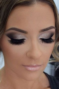 35 stunning night wedding make up ideas 20