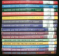 MANDIE Series Lot of 15 PB Books LOIS GLADYS LEPPARD Youth Christian Fiction