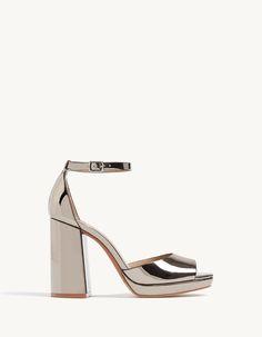 Les sandales à talon pour femme pour un jour parfait sont de Stradivarius. Découvre les sandales plateforme, compensées ou à talons aiguilles de l'été 2017.