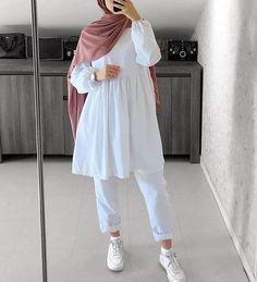 Hijab Fashion Summer, Modest Fashion Hijab, Modern Hijab Fashion, Modesty Fashion, Hijab Fashion Inspiration, Islamic Fashion, Muslim Fashion, Mode Inspiration, Girls Fashion Clothes