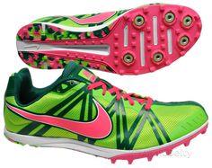 ► New Nike Jana Star XC 5 Womens Track Field Spikes Cross Country Shoes Green   eBay