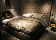 Ciao! iSaloni 2014 Trends From Milano - Tall Beds Trend: Taller frames and thicker, plusher mattresses!