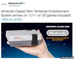 Nintendo Classic Mini! #retro