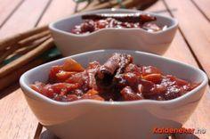 Szilvachutney, az indiai ízesítő Chili, Food And Drink, Soup, Keto, Snacks, Canning, Drinks, Products, Drinking