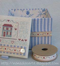 stitched box.... <3