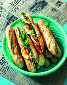 LêLês vietnamesiske baguette