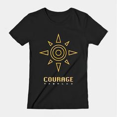 ====== Shirt for Sale ====== Crest of Courage  Digimon tshirt by Kaiserin. ======================= #DigimonAdventure #tri