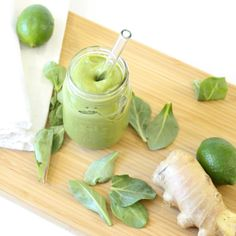 Ginger Lime Green Smoothie Recipe!