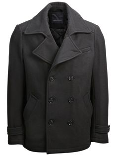 Mercer DB Pea Coat T - 1 099 kr Kappa, Mantel, Fit, The Selection, Pea Coat, How To Wear, Fashion, Seasons Of The Year, Model