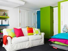 A playroom is the space where your kids create, explore and imagine. Follow top designer tips and tricks for creating the ultimate playroom.