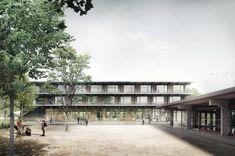 Kaum haben Karamuk Kuo Architekten einen Wettbewerb für die Uni Lausanne gewonnen, räumen sie erneut ab. Das Büro überzeugte die Jury mit ihrem Entwurf für die Erweiterung des Oberstufenzentrums Weiden in Rapperswil-Jona.