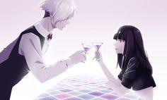 Cheers!!! Decim and Chiyuki~