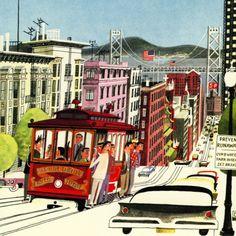 This is San Francisco (1962) | Illustrator: M. Sasek