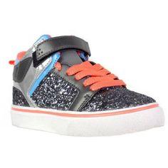 Ocean Pacific Girls Chunky Glitter Athletic Shoe, Infant Girl's, Size: 1, Gray