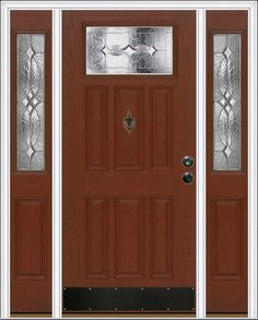 Check Out This L Frame Signet Fiberglass Door By Provia