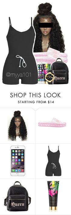 """""""Untitled #1134"""" by myya101 on Polyvore featuring WithChic, Puma, Charlotte Russe, Victoria's Secret and Gucci"""