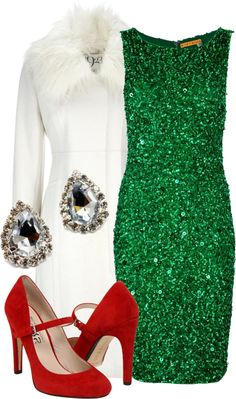 """Fancy & Festive"" by qtpiekelso on Polyvore"