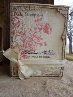 A card for grandma by junior tx - Cards and Paper Crafts at Splitcoaststampers