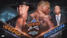 Brock Lesnar provoked the dead and The Undertaker responded. #WWE #Battleground #SummerSlam