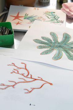 Et si vous pouviez vous pencher par-dessus l'épaule de Rémi (designer de Tinsels) pour voir ce qu'il dessine en ce moment ?  => Lien vers le journal de la maison Tinsels