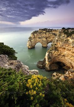 Rochy Sunrise, Algarve, Portugal