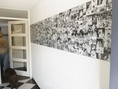 Wall of Favorites, wandcollage afgedrukt op hoogwaardig kunststof, al je favoriete foto's elke dag om van te genieten. Photo Wall Collage, Picture Wall, Diy Bedroom Decor, Diy Home Decor, Family Wall Decor, Photo Deco, Photo Wallpaper, Creative Decor, Colorful Interiors