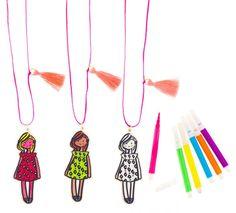 """Little Lux: """"Fashion Designer"""" Necklace Collaboration Sophie & Lili + Little Lux"""