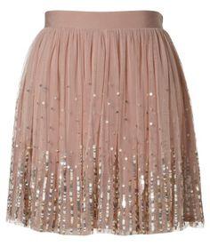 Lipsy Sequin Detail Skirt. Love.