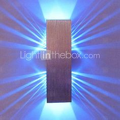 [EUR € 20.62] 2W Modern Led Wall Light with Scattering Light Design 2 Cubic Shades