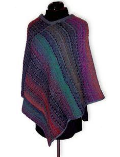 Ravelry: geseke's Knit-woven poncho