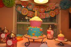 cupcake party stuff