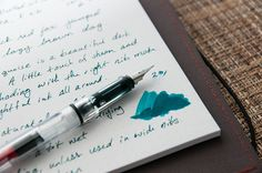 Noodler's Turquoise Ink Review — The Pen Addict
