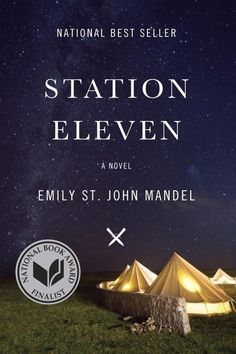 I couldn't stop talking about Emily St. John Mandel's Station Eleven. It tells the story of a very near future in which most of the world's population has been wiped out by a massive pandemic, and deals with the lives of people affected by the disaster before and after it takes place. It may sound cliché, but it's a beautiful, scarily realistic read that will leave you incapable of talking — or thinking — of anything else for days. —Tiana H.