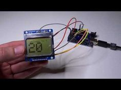 Arduino count up timer using the Nokia 5110 LCD - Tutorial45
