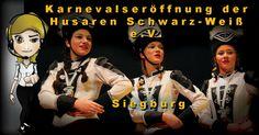 Karnevalseröffnung der Husaren Schwarz-Weiß e.V. Siegburg