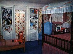Christina's bedroom was bright and cheerful, but with a dark history behind it......