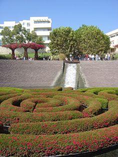 Love The Getty Museum garden