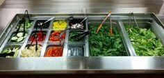 The middle school salad bar!