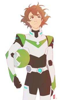 "hachidraws:  ""Pidge must get some truly outrageous helmet hair (RIP all those broken hairbrushes)  part of a collaboration I'm doing with the wonderful @lemonorangelime C:  """
